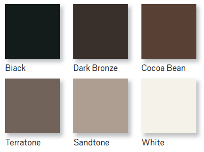 andersen windows 100 series colors