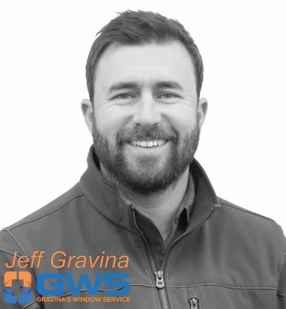 Jeff Gravina, owner of Gravina's Window Service