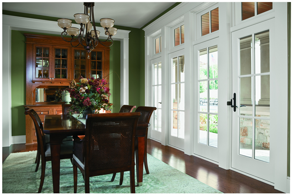 Frenchwood hinged doors andersen windows denver 303 for Interior french patio doors