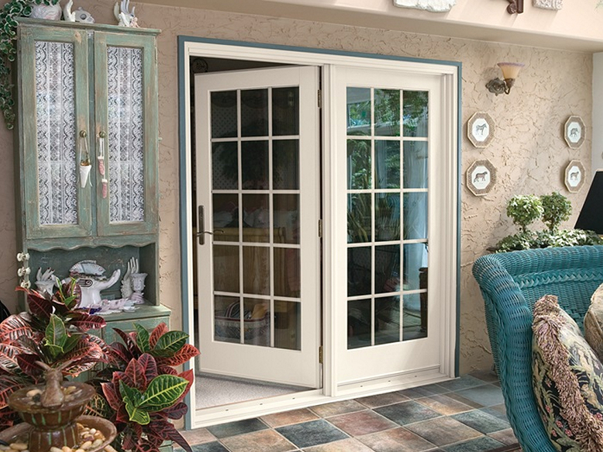 single active french door