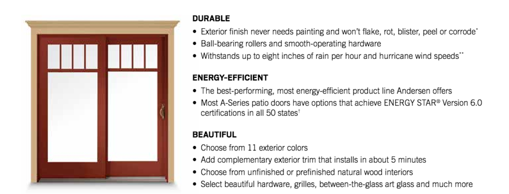 denver andersen patio doors