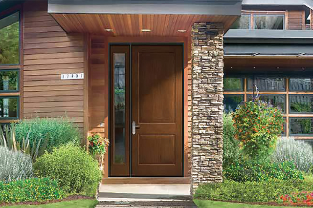 fiberglass entry door no glass